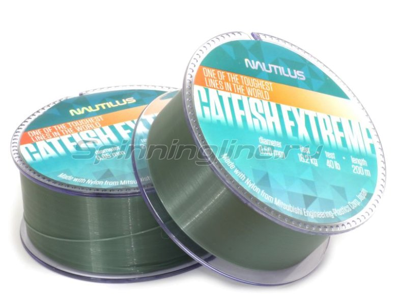 Nautilus - Леска Catfish Extreme 200м 0,40мм - фотография 1