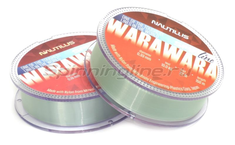 Nautilus - Леска WaraWara 150м 0,33мм - фотография 1