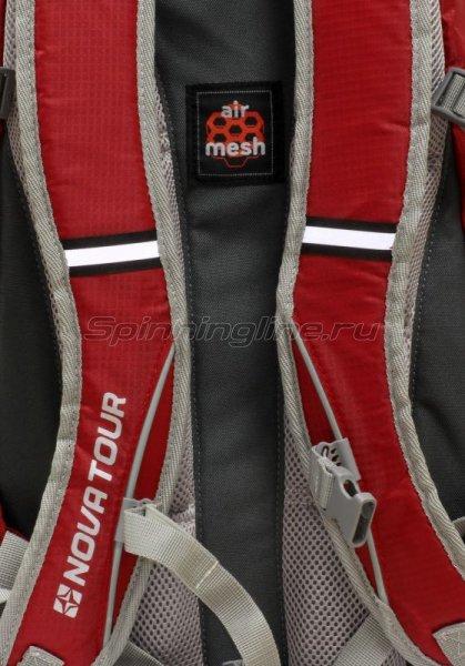 Nova Tour - Рюкзак Вижн 20 серый/красный - фотография 2