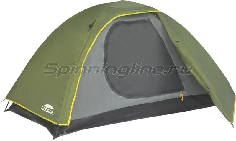 Палатка Трек 3 Олива -  1