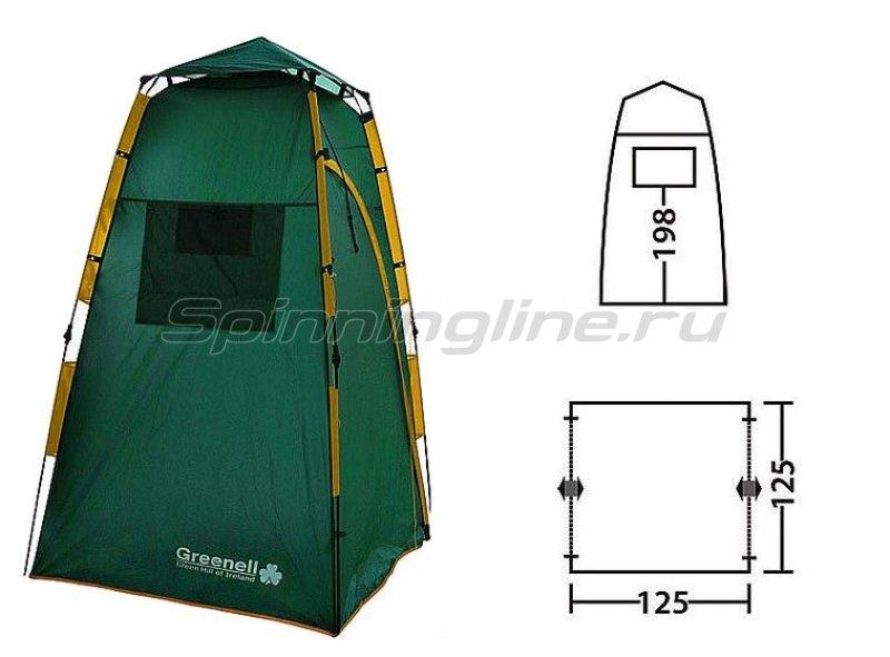 Палатка-душ Приват V2 зеленый -  4