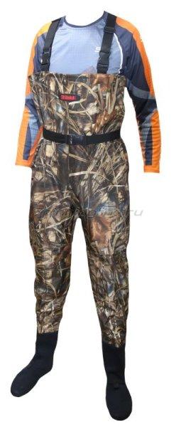 Вейдерсы Alaskan Scout камуфляж XL - фотография 1