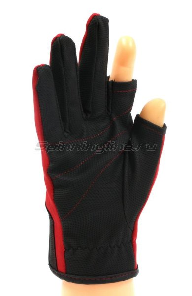 Перчатки спиннингиста Alaskan AGWK-11 L Red/BL - фотография 2
