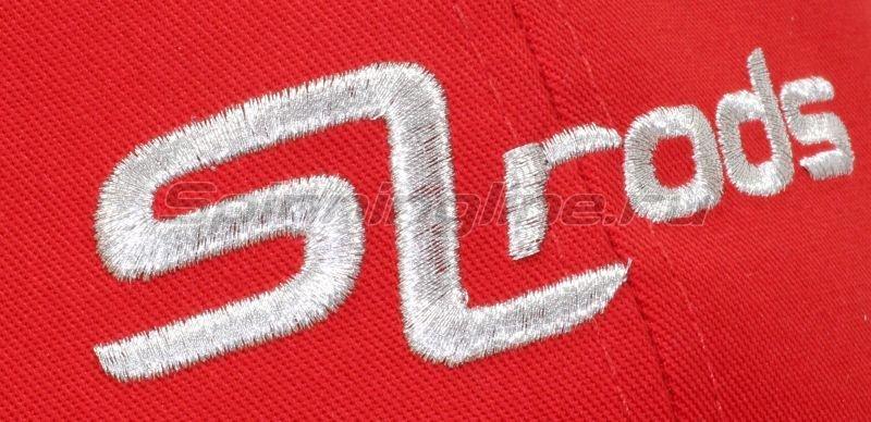 SLrods - Кепка SL rods красная - фотография 4