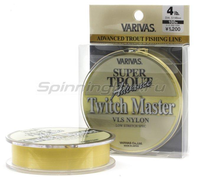 Леска Varivas Super Trout Advance Twitch Master Nylon 100м 0,185мм -  1