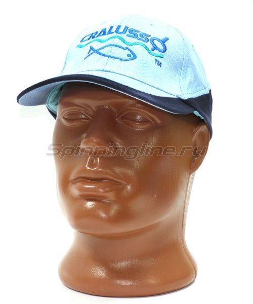 Кепка Cralusso Cap голубая -  1