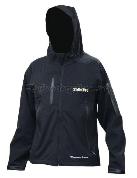 Куртка черная с логотипом Strike Pro S - фотография 1
