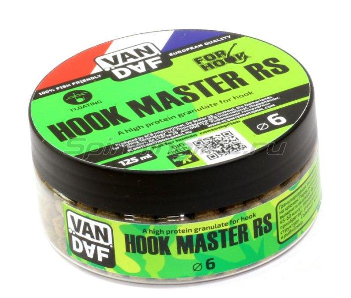 Гранулы Van Daf Hook Master RS 6мм 125мл -  1