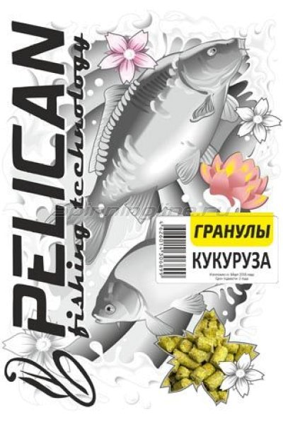 Прикормка Pelican Кукуруза гранулы -  1