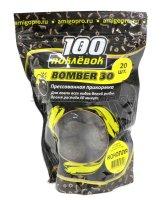 Прикормка 100 поклевок Bomber-30 Конопля