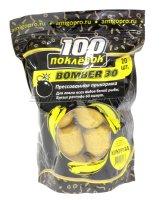 Прикормка 100 поклевок Bomber-30 Кукуруза