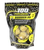Прикормка 100 поклевок Bomber-30 Мед
