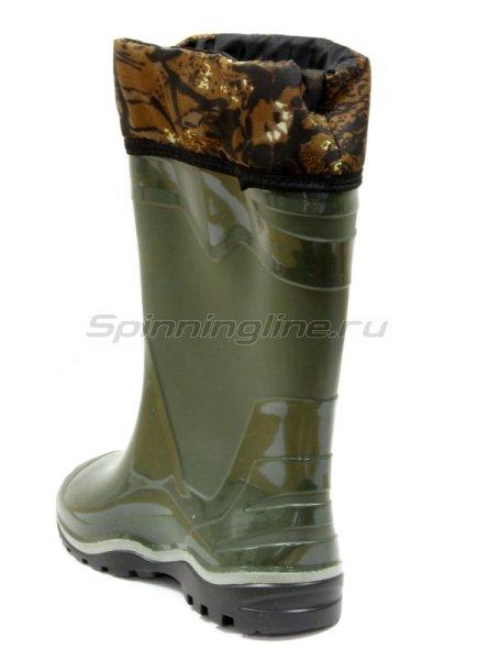 Сапоги с надставкой из ПВХ олива 43 -  3