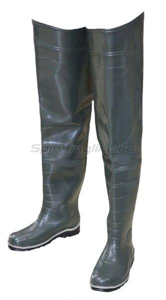 Дюна-АСТ - Сапоги рыбацкие цельнолитые олива 42 - фотография 1