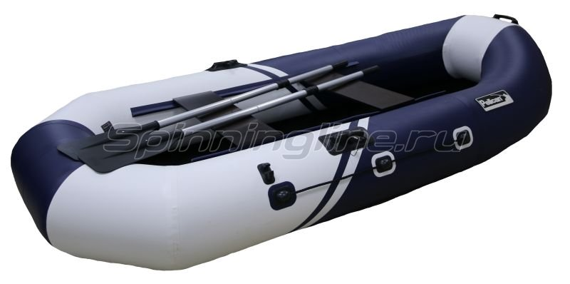 Pelican Ufa - Лодка ПВХ Пеликан 270 River синий/белый - фотография 1
