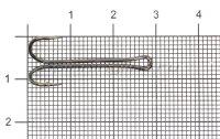 Двойник Double Elongate Hook with long shank №6