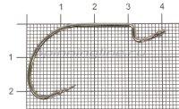 Крючок Hitfish J-Hook BC №5/0