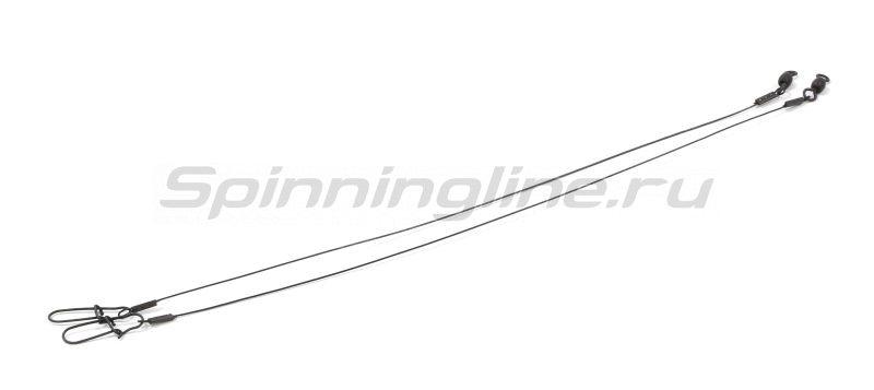 Поводок Nautilus Steel Force Hybrid 1x7 9кг 25см -  4