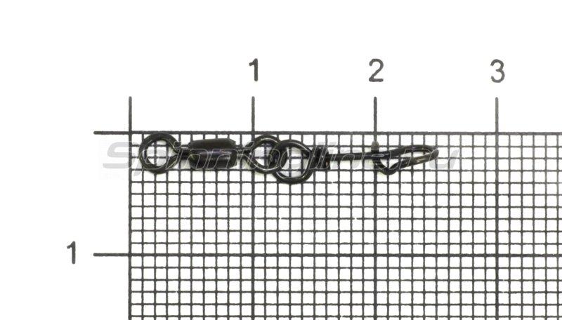 Вертлюг с карабином Brass Crane Swivel with Easylock snap №1 -  1