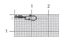 Вертлюг с карабином X-Patten Rolling Swivel With Round Snap №14