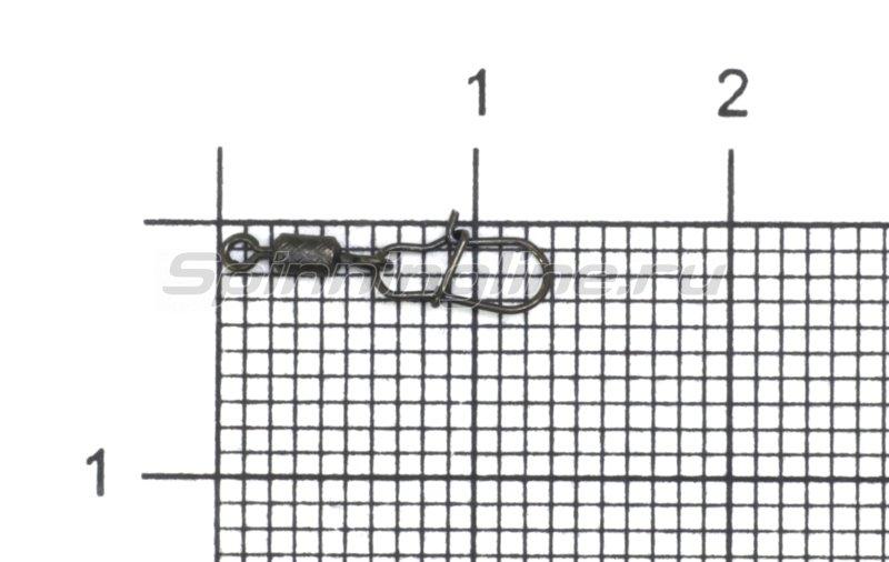 Hitfish - Вертлюг с карабином X-Patten Rolling Swivel With Round Snap №14 - фотография 1