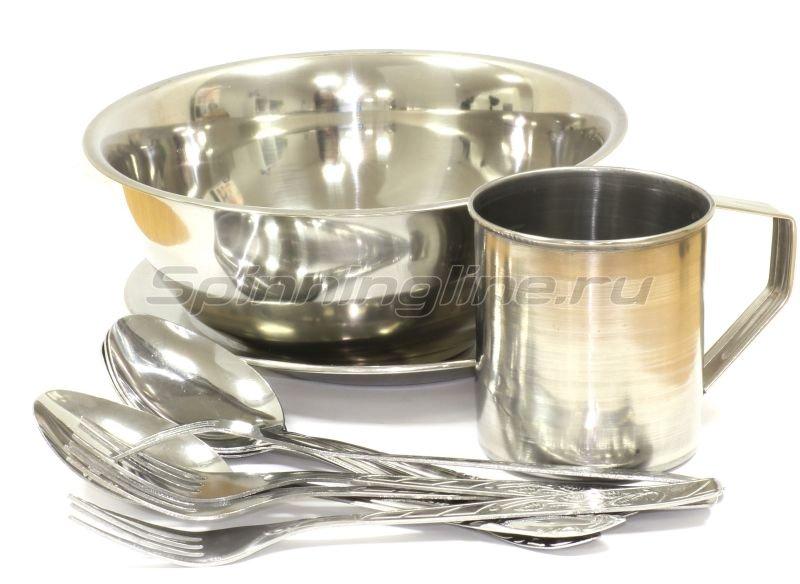 Три Кита - Набор посуды Пикник на 4 персоны - фотография 1