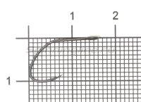 Крючок Vanfook SP-31BL stealth black №8 упаковка 10 штук