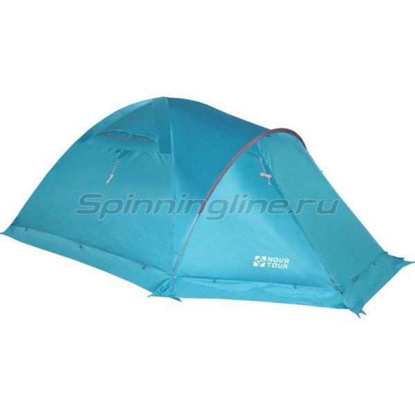 Палатка Терра 4 V2 Нави -  1
