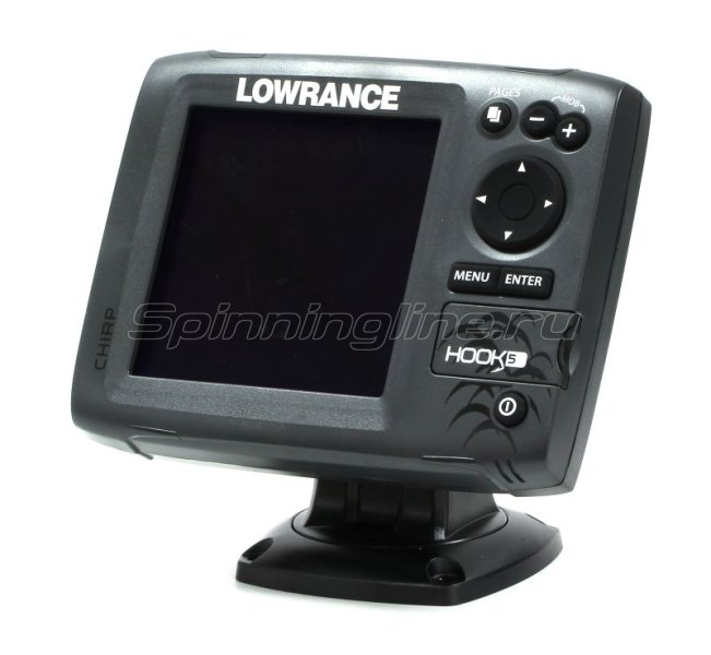 Эхолот Lowrance Hook-5 Mid/High/DownScan - фотография 1