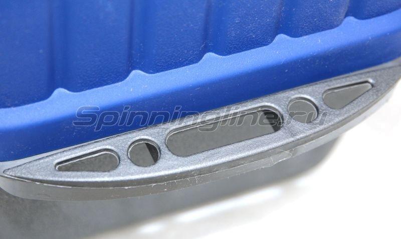 Ящик рыболовный трехполочный синий Helios -  3