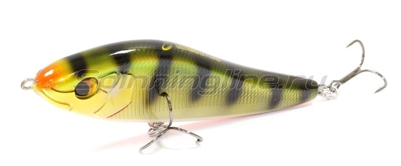 Savage Gear - Воблер Deviator Jerkbait 16 Perch 84гр - фотография 1