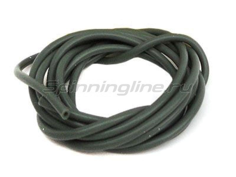 Nautilus - Трубка силиконовая Silicone tube 1,5мм 1м olive - фотография 1