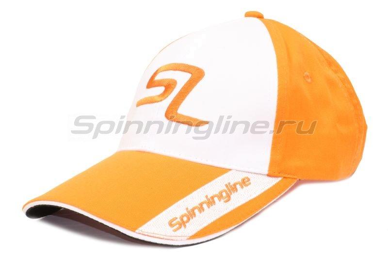 Кепка Spinningline бело-оранжевый 57 -  1