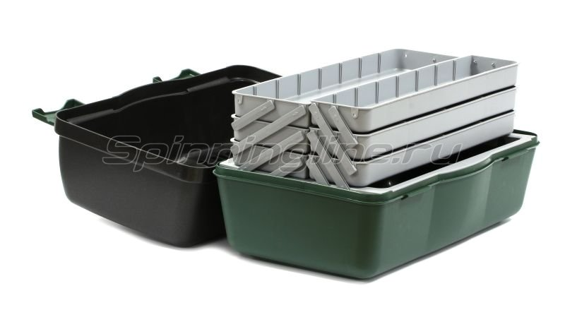���� Nautilus 138 Tackle Box 6-tray green-gray - ���������� 2