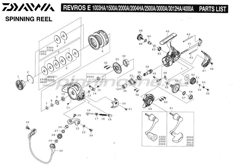 Daiwa - Катушка Revros E 2000A - фотография 8