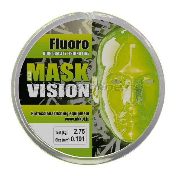 Akkoi - Леска Mask Vision 100м 0,264мм - фотография 3