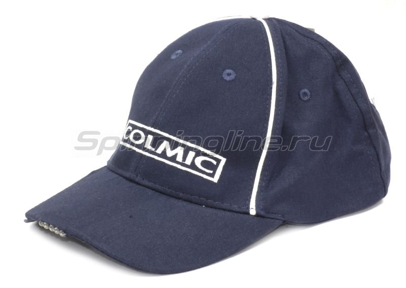 Кепка Colmic с фонарем Cappello Cotone Blue - Led Light - фотография 1