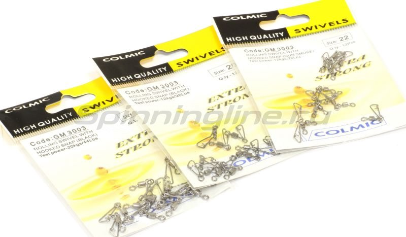 Colmic - Roll Swiv+Hooked Snap �20 - ���������� 2