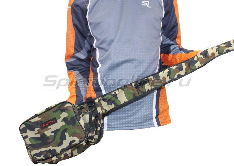 IdeaFisher - Поясная сумка с держателем и чехлом для удилища Stakan Stradivari камуфляж - фотография 3
