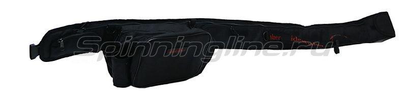 IdeaFisher - Поясная сумка с держателем и чехлом для удилища Stakan Stradivari черный - фотография 1