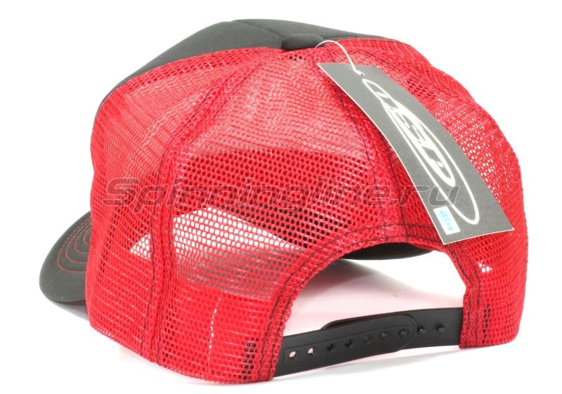 Кепка O.S.P Logo Mesh Cap Black Red - фотография 2