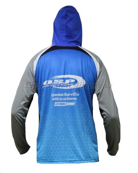 Толстовка O.S.P Hooded Long Sleeve T-Shirts Blue M -  2