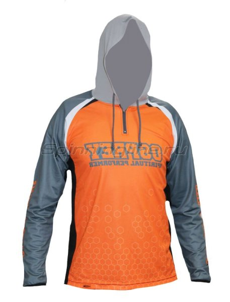 Толстовка O.S.P Hooded Long Sleeve T-Shirts Model5 NEW Orange L - фотография 1