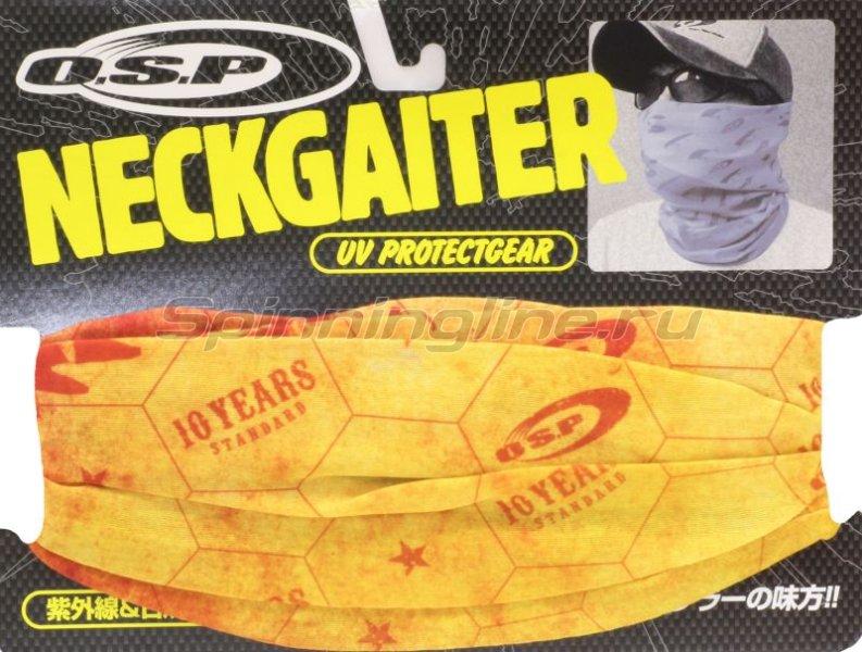 Бандана O.S.P Neck Gator Scarlet Gray -  2