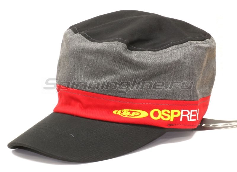 Кепка O.S.P Work Cap Black Red - фотография 1