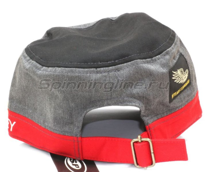 Кепка O.S.P Work Cap Black Red - фотография 2