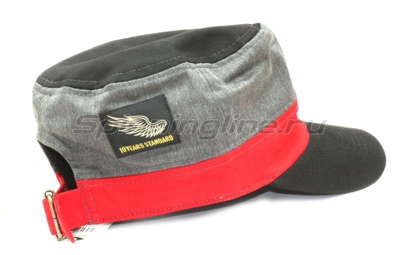 Кепка O.S.P Work Cap Black Red - фотография 3