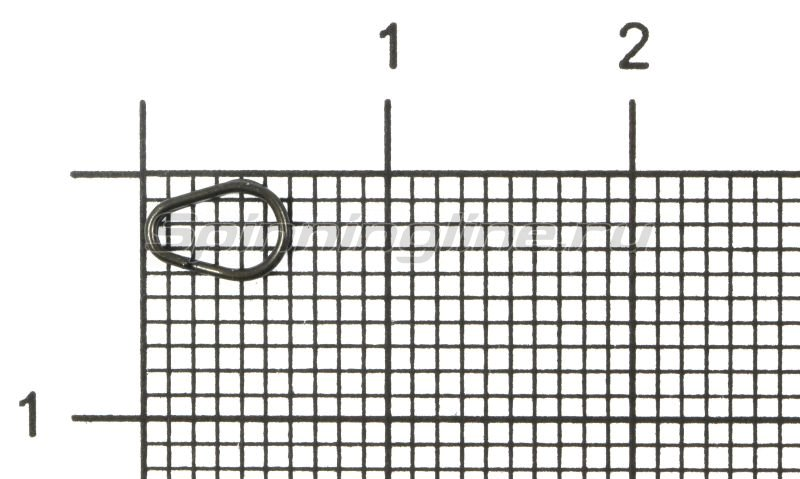 Кольца заводные Egg Split Ring №0 -  1