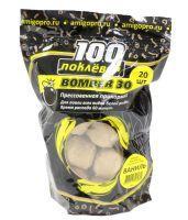 Прикормка 100 поклевок Bomber-30