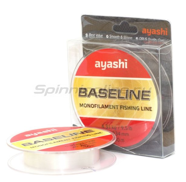 Ayashi - Леска Baseline 150м 0,148мм - фотография 1